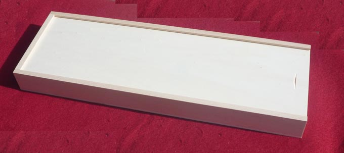 Wood Box Champagne sword