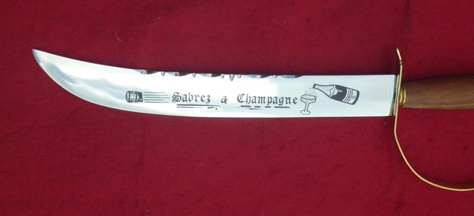 Champagne Sword
