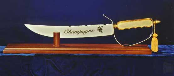 champagne swords